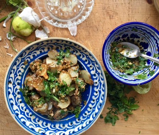 Warmer Topinambur Salat als Power-Food