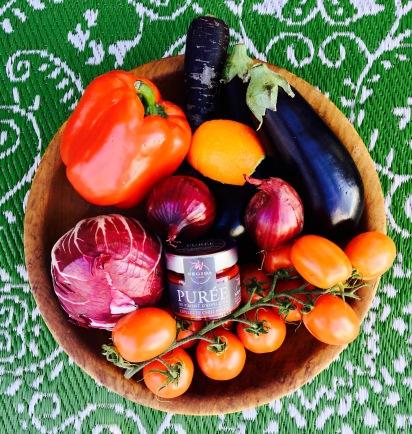 Balsamico-Gemüse Zutaten