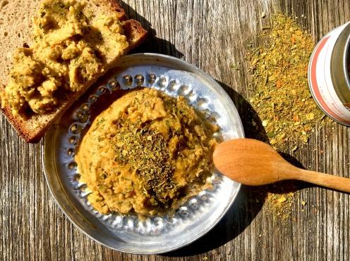 Würziger Cachew-Aufstrich indisch