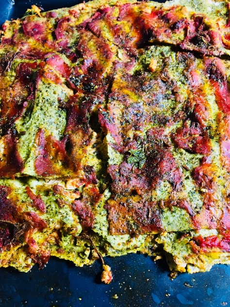 Lasagne mit Grünmehl