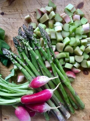 Gemüse im Frühling
